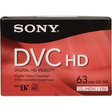 hdv cassette sony dvm 63hd hdv cassette 63 minutes dvm63hdr b h photo