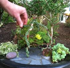Mini Fairy Garden Ideas by Copper Wire Miniature Fairy Arbor Fairy Garden Pinterest