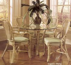 acapulco rattan and wicker dining furniture kozy kingdom