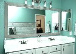 framing bathroom mirror ideas bathroom framed mirrors designs unique bathroom mirror ideas unique