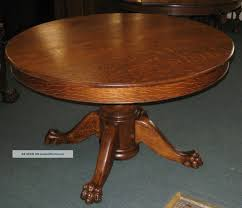 Antique Oak Dining Tables Round Oak Dining Table Tables Furnitures