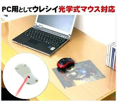 acrylic desk mat custom size clear desk protector binteo for clear desk mat renovation