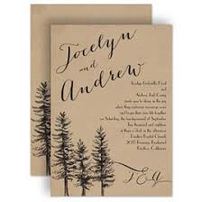 tree wedding invitations pine tree wedding invitations invitations by
