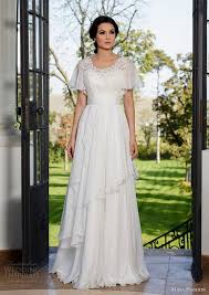 flutter style dress 20 gorgeous wedding dresses with flutter sleeves deer pearl flowers
