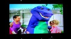 Image Threewishes Theend Jpg Barney by Barney Waiting For Santa The Complete Show 1990 Original Vhs