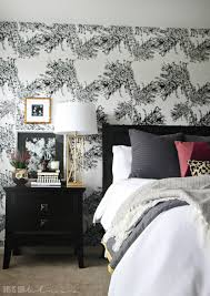 Accent Walls In Bedroom by Master Bedroom Accent Wall With Wallpaper This Is Our Bliss