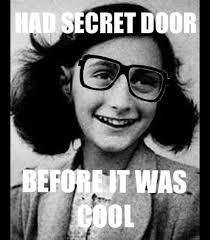 Anne Frank Memes - hipster anne frank funny