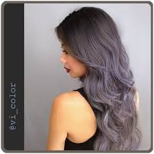 blue ash color grayish blue and silver midnight storm bombre ombre by victoria