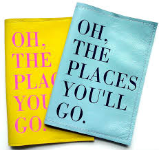 oh the places you ll go graduation gift oh the places you ll go leather passport cover