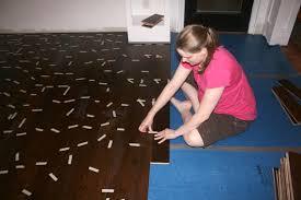 Hardwood Floating Floor Remodelaholic Installing A Floating Wood Floor Living Room
