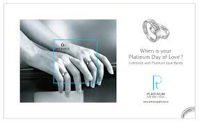 www preciousplatinum in platinum bands on behance