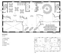Floor Plan For Restaurant restaurant bar design plans home design ideas