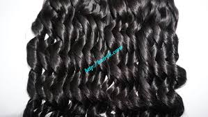 Double Weft Hair Extensions by 22 Inch Loose Curly Hair Weave No Shedding No Tangle