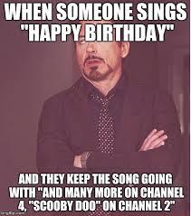 Make A Birthday Meme - face you make robert downey jr meme imgflip