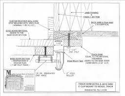 Overhead Door Track Garage Door Operator Prewire And Framing Guide With Regard To