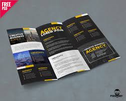 3 fold brochure template psd free corporate trifold brochure psd psddaddy