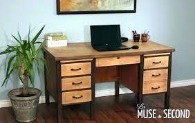 bureau chene massif moderne bureau bois massif moderne bureau chene massif moderne stock of