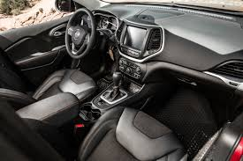 Jeep Cherokee Sport Interior First Drive 2014 Jeep Cherokee