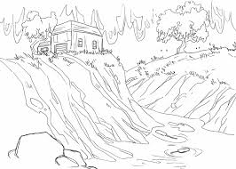 flash flood drawing free here