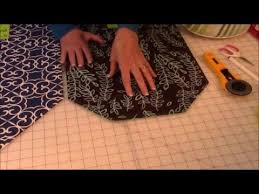 how to make a table runner with pointed ends how to make a table runner pointed and round the sewing room channel