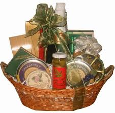 wine and cheese basket wine and cheese gift baskets