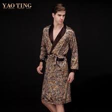 robe de chambre homme satin de chambre satin pour homme