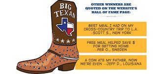 Big Rocking Chair In Texas Man Versus Steak Facing The 72 Oz Big Texan Steak Challenge