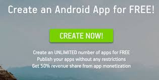 make android app 3 popular website to create android apps yourself