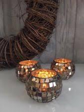 pine cone tea light holder pine cone tealight candle holders set of 3 glass tea lights copper
