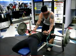 Weight Bench With Spotter Positioning The Bar For A Bigger Bench Press Brute Force Strength