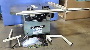 central machinery table saw fence 16 used delta table saw mdl rt 40 96789 sterling machinery