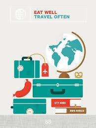 eat well travel often inspiration nice illustration adorable