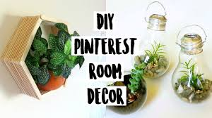 Room Decorations Pinterest by Diy Dollar Pinterest Room Decor 2016 Light Bulb Terrariums