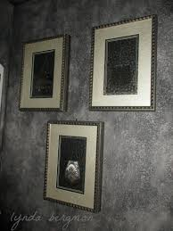 lynda bergman decorative artisan faux painting walls with black