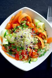 carrot and zucchini linguini salad recipe linguine natural