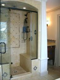 Standard Shower Door Sizes Walk In Shower Sizes Shower Size Walk In Shower Dimensions