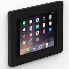 How To Mount Ipad To Wall Black Ipad Mini 4 Vidamount On Wall Tablet Mount