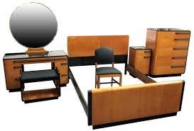 donald deskey american art deco bedroom set for kroehler