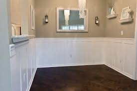 Spell Wainscoting Just Finished My Easy Faux Wainscoting U2014 Thenest