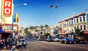 Chinatown San Francisco Map by Sf Neighborhoods The Castro District Bay City Guide San