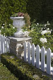 144 best hardscaping in the garden picket fences images on
