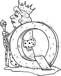 letter q printable coloring pages for kids coloring point