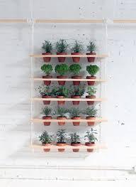diy hanging garden shelves for a small space gardenista