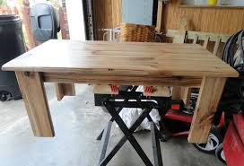 hickory coffee table ana white woodworking projects