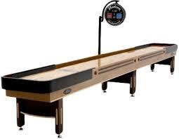 Shuffle Board Tables Hudson Shuffleboards Grand 14 U0027 Shuffleboard Table U0026 Reviews Wayfair