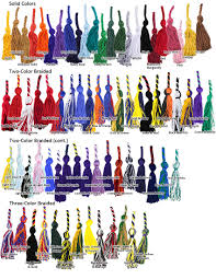 graduation cord colors u0026 meanings honor cord colors