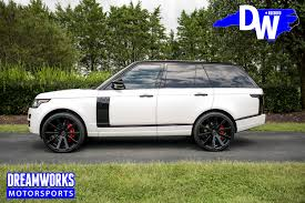 white range rover rims land rover u2014 dreamworks motorsports