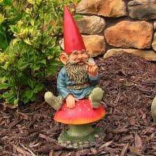 Garden Nome by Sunnydaze Adam With Butterfly Garden Gnome U2013 14 U201d