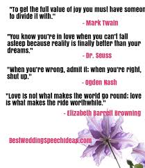 wedding quotes dr seuss best wedding toast exles quotes and ideas