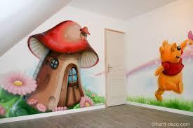 d oration chambre winnie l ourson décor mural de salle de jeux sur le thème de winnie l ourson